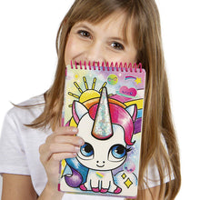 Load image into Gallery viewer, Unicorn Fantasy Compact Sketch Portfolio