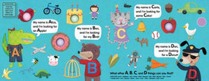 Alphabet Eye Spy Poke Book