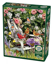 Load image into Gallery viewer, Summer Adirondack Birds Puzzle 1000 pc