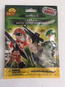 "COBI Small Army ""Figure w/Accessories"""