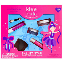 Load image into Gallery viewer, Ballet Star Natural Play Makeup Kit