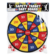 Load image into Gallery viewer, Safety Target Dart Board