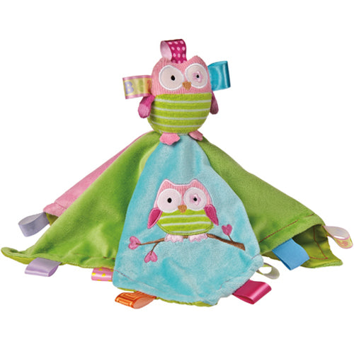 Taggies Oodles Owl Soft Blanket