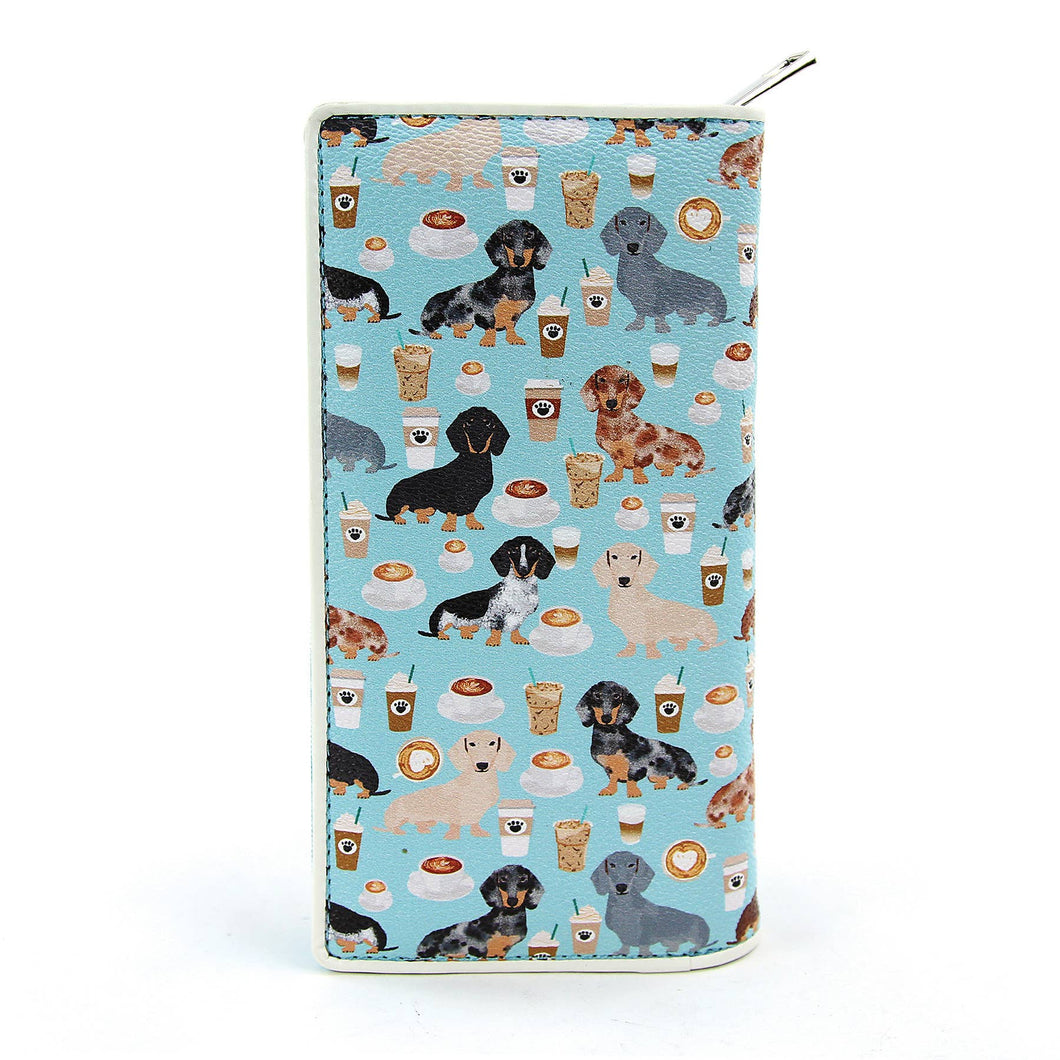 Dachshung and Coffee Wallet