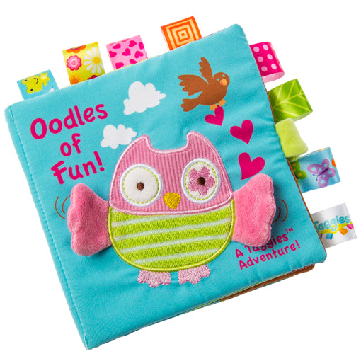 Taggies Oddles Owl Soft Book