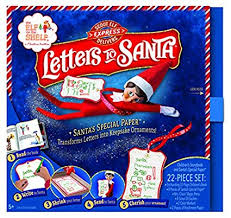 Elf on shelf Scout Elf Express Delivers Letters to Santa