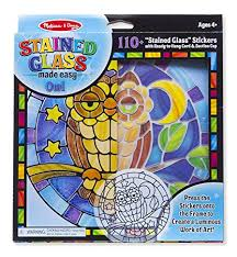 Stain Glass Owl