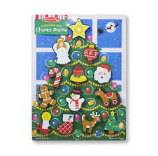 Christmas Tree Chunky Puzzle