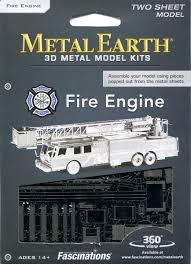 Fire Engine Metal Earth