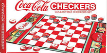 Load image into Gallery viewer, Coca-Cola Checkers