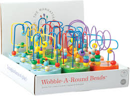 Wobble A Round Beads