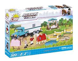 COBI Action Town Equestrian Competition