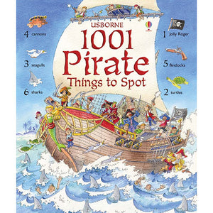1001 Pirate Things to Spot Book
