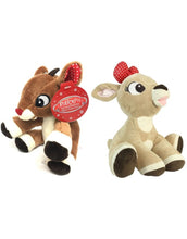 Load image into Gallery viewer, Rudolph & Clarice Mini Jingler