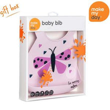 Load image into Gallery viewer, Baby Bib Butterfly