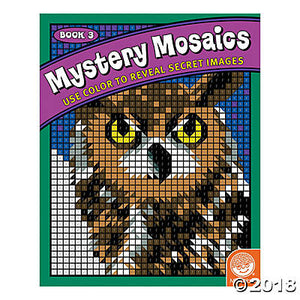 Mystery Mosaic Book 3