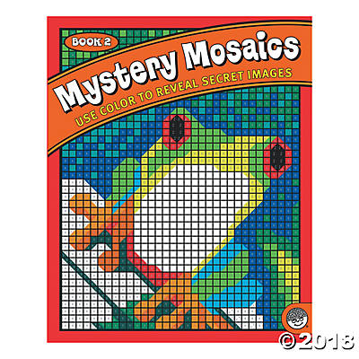 Mystery Mosaic Book 2