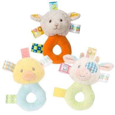 Taggies Barnyard Rattle
