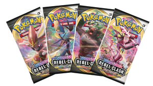 Pokémon Rebel Clash Booster Pack