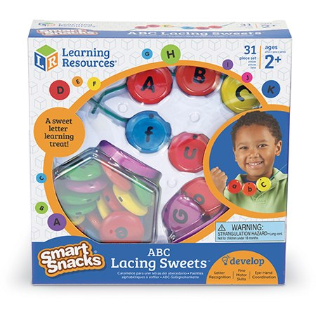 Smart Snacks ABC Lacing Sweets