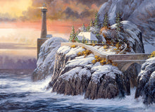 Load image into Gallery viewer, Winter Lighthouse