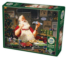 Load image into Gallery viewer, Santa Painting Cars 1000 pc