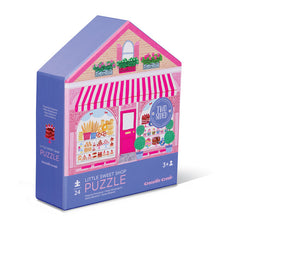 Sweet Shop Two-Sided Puzzle