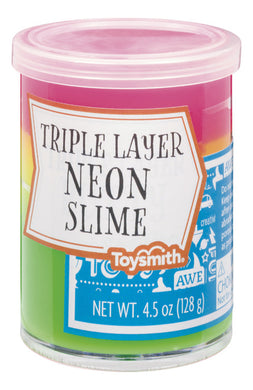 Triple Layer Neon Slime