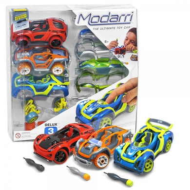 Modarri Delux 3 Pack Car Set