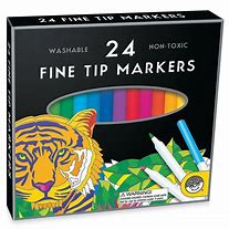 Markers Set of 24 Fine tip