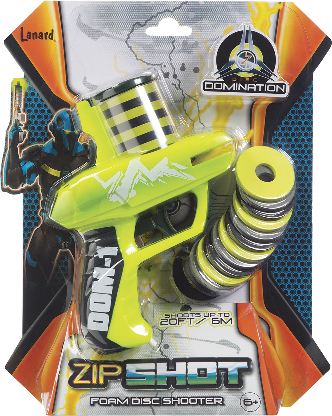 Zip Shot Foam Disc Shooter