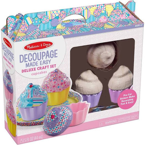 Decoupage Made Easy Cupcakes