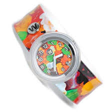 Watchitude slap watch gummy bears