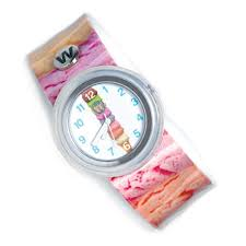 Watchitude slap watch ice cream