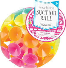 Jumbo Light Up Suction Ball