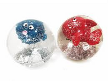 Load image into Gallery viewer, Glitter Critter Ball