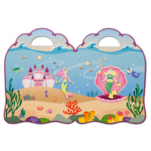 Load image into Gallery viewer, Puffy Sticker Play Set - Mermaid