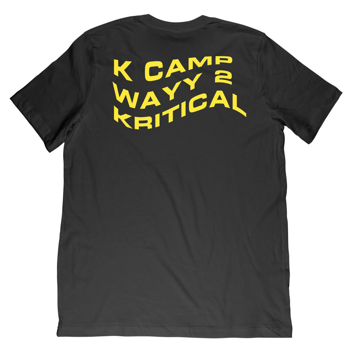 Wayy 2 Kritical Tee + Digital Album