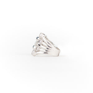 Anillo envolvente con brillantes - Laila's Dress