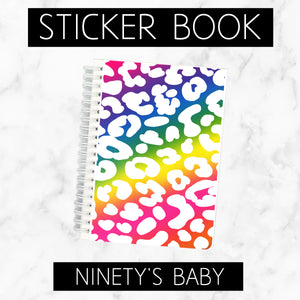 Reusable Sticker Book // Ninety's Baby