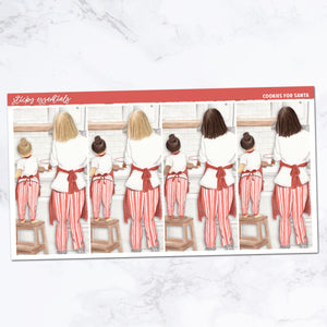 Cookies for Santa // Fashion Girls