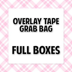 Overlay Tape GRAB BAG // Full Boxes