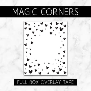 Magic Corners // Full Box Overlay Tape