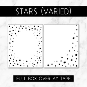 Stars (Varied Roll) // Full Box Overlay Tape