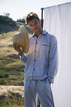 Load image into Gallery viewer, Classic Grey Men Long PJ