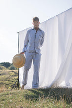 Load image into Gallery viewer, Classic Grey Men Long Pajama