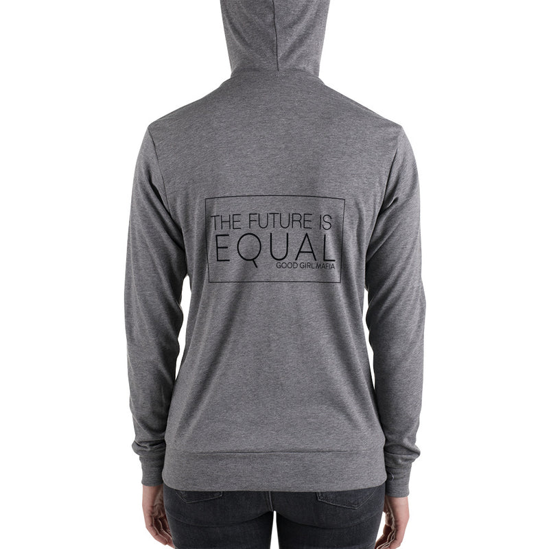 The Future is Equal Zip Hoodie