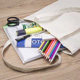 Canvas Craft Tote Bags for Crafts, Gift Bags, Wedding Favors Bags, Welcome Bags, Goody Bags, Lunch Bags and More!