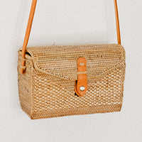 Iduna Small Rectangle Rattan Bag