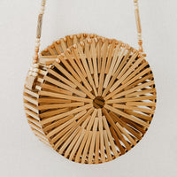 Sol Bamboo Round Bag